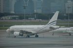 LEGACY-747さんが、台北松山空港で撮影した中国個人所有 A318-112 CJ Eliteの航空フォト(飛行機 写真・画像)