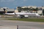 OMAさんが、シンガポール・チャンギ国際空港で撮影したシンガポール航空 A350-941XWBの航空フォト(飛行機 写真・画像)