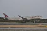 厦龙さんが、成田国際空港で撮影したカタール航空 A350-1041の航空フォト(飛行機 写真・画像)