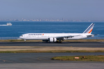 delawakaさんが、羽田空港で撮影したエールフランス航空 777-328/ERの航空フォト(飛行機 写真・画像)
