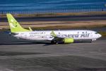 delawakaさんが、羽田空港で撮影したソラシド エア 737-81Dの航空フォト(飛行機 写真・画像)
