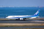 delawakaさんが、羽田空港で撮影した全日空 767-381/ERの航空フォト(飛行機 写真・画像)