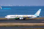 delawakaさんが、羽田空港で撮影したAIR DO 767-381の航空フォト(飛行機 写真・画像)