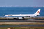 delawakaさんが、羽田空港で撮影した中国国際航空 A330-343Xの航空フォト(飛行機 写真・画像)