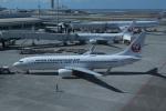 Mr.boneさんが、那覇空港で撮影した日本トランスオーシャン航空 737-8Q3の航空フォト(飛行機 写真・画像)