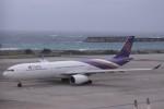 Mr.boneさんが、那覇空港で撮影したタイ国際航空 A330-343Xの航空フォト(飛行機 写真・画像)