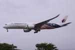 Mr.boneさんが、成田国際空港で撮影したマレーシア航空 A350-941XWBの航空フォト(飛行機 写真・画像)