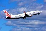まいけるさんが、シドニー国際空港で撮影したヴァージン・オーストラリア 737-8FEの航空フォト(飛行機 写真・画像)
