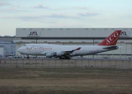 銀苺さんが、成田国際空港で撮影したエア・カーゴ・ジャーマニー 747-412(BCF)の航空フォト(飛行機 写真・画像)