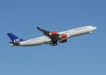 銀苺さんが、成田国際空港で撮影したスカンジナビア航空 A340-313Xの航空フォト(飛行機 写真・画像)