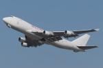 木人さんが、成田国際空港で撮影したカリッタ エア 747-4B5F/SCDの航空フォト(飛行機 写真・画像)