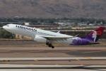 キャスバルさんが、フェニックス・スカイハーバー国際空港で撮影したハワイアン航空 A330-243の航空フォト(飛行機 写真・画像)