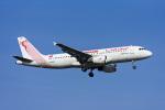 Frankspotterさんが、フランクフルト国際空港で撮影したチュニスエア A320-214の航空フォト(飛行機 写真・画像)