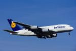 Frankspotterさんが、フランクフルト国際空港で撮影したルフトハンザドイツ航空 A380-841の航空フォト(飛行機 写真・画像)