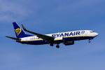 Frankspotterさんが、フランクフルト国際空港で撮影したライアンエア 737-8ASの航空フォト(飛行機 写真・画像)
