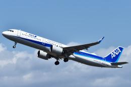 森の妖精さんが、函館空港で撮影した全日空 A321-272Nの航空フォト(飛行機 写真・画像)