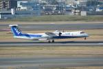 LEGACY-747さんが、伊丹空港で撮影したANAウイングス DHC-8-402Q Dash 8の航空フォト(飛行機 写真・画像)