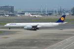 LEGACY-747さんが、羽田空港で撮影したルフトハンザドイツ航空 A340-642の航空フォト(飛行機 写真・画像)