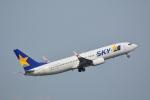 LEGACY-747さんが、羽田空港で撮影したスカイマーク 737-86Nの航空フォト(飛行機 写真・画像)