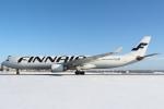 セブンさんが、新千歳空港で撮影したフィンエアー A330-302Xの航空フォト(飛行機 写真・画像)