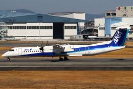 セブンさんが、伊丹空港で撮影したANAウイングス DHC-8-402Q Dash 8の航空フォト(飛行機 写真・画像)