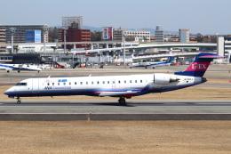 セブンさんが、伊丹空港で撮影したアイベックスエアラインズ CL-600-2C10 Regional Jet CRJ-702の航空フォト(飛行機 写真・画像)