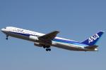 セブンさんが、伊丹空港で撮影した全日空 767-381/ERの航空フォト(飛行機 写真・画像)