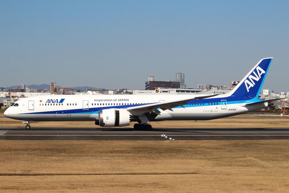 セブンさんの全日空 Boeing 787-9 (JA830A) 航空フォト
