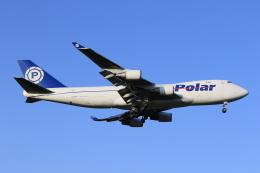 みるぽんたさんが、成田国際空港で撮影したポーラーエアカーゴ 747-46NF/SCDの航空フォト(飛行機 写真・画像)