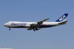 みるぽんたさんが、成田国際空港で撮影した日本貨物航空 747-8KZF/SCDの航空フォト(飛行機 写真・画像)