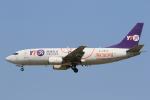 みるぽんたさんが、成田国際空港で撮影したYTOカーゴ・エアラインズ 737-36Q(SF)の航空フォト(飛行機 写真・画像)