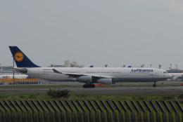 banshee02さんが、成田国際空港で撮影したルフトハンザドイツ航空 A340-313Xの航空フォト(飛行機 写真・画像)