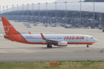 TAK_HND_NRTさんが、関西国際空港で撮影したチェジュ航空 737-8Q8の航空フォト(飛行機 写真・画像)