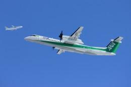 メンチカツさんが、新千歳空港で撮影したANAウイングス DHC-8-402Q Dash 8の航空フォト(飛行機 写真・画像)