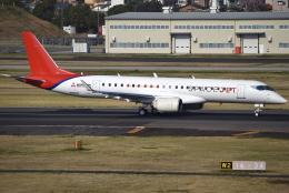 jun☆さんが、名古屋飛行場で撮影した三菱航空機 MRJ90STDの航空フォト(飛行機 写真・画像)