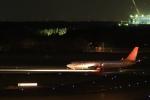 Hiro-hiroさんが、成田国際空港で撮影したチェジュ航空 737-8ASの航空フォト(飛行機 写真・画像)