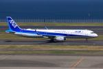 やつはしさんが、羽田空港で撮影した全日空 A321-211の航空フォト(飛行機 写真・画像)