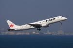 やつはしさんが、羽田空港で撮影したジェイ・エア ERJ-190-100(ERJ-190STD)の航空フォト(飛行機 写真・画像)