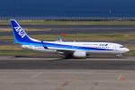 やつはしさんが、羽田空港で撮影した全日空 737-8ALの航空フォト(飛行機 写真・画像)