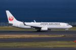 やつはしさんが、羽田空港で撮影した日本航空 737-846の航空フォト(飛行機 写真・画像)