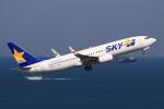 やつはしさんが、羽田空港で撮影したスカイマーク 737-86Nの航空フォト(飛行機 写真・画像)