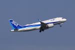 やつはしさんが、羽田空港で撮影した全日空 A320-271Nの航空フォト(飛行機 写真・画像)