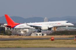 きんめいさんが、名古屋飛行場で撮影した三菱航空機 MRJ90STDの航空フォト(飛行機 写真・画像)