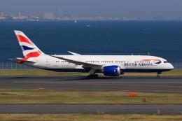 やつはしさんが、羽田空港で撮影したブリティッシュ・エアウェイズ 787-8 Dreamlinerの航空フォト(飛行機 写真・画像)
