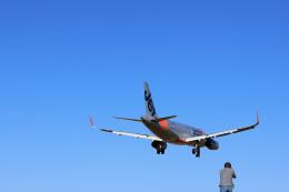 ひめままさんが、宮崎空港で撮影したジェットスター・ジャパン A320-232の航空フォト(飛行機 写真・画像)