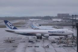 Mr.boneさんが、成田国際空港で撮影した日本貨物航空 747-8KZF/SCDの航空フォト(飛行機 写真・画像)