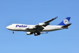 ポン太さんが、成田国際空港で撮影したポーラーエアカーゴ 747-46NF/SCDの航空フォト(飛行機 写真・画像)