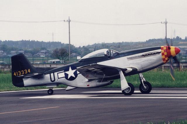 banshee02さんが、龍ケ崎飛行場で撮影したプレーンズ・オブ・フェイム P-51D Mustang Mk4の航空フォト(飛行機 写真・画像)