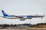 RUNWAY23.TADAさんが、成田国際空港で撮影した全日空 777-381/ERの航空フォト(飛行機 写真・画像)
