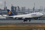kina309さんが、羽田空港で撮影したルフトハンザドイツ航空 747-430の航空フォト(飛行機 写真・画像)